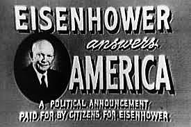 Political Advertising: Eisenhower and Reeves