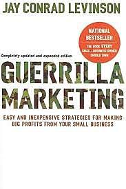 New trend: Guerilla Marketing