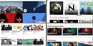 New trend: YouTube video-sharing website