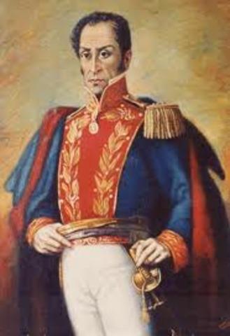 Llegada de Bolivar a Guayaquil