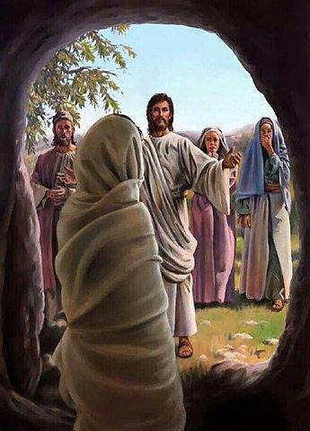 JESÚS DEVUELVE LA VIDA A LÁZARO