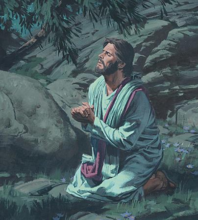 JESÚS PADECE EN EL JARDÍN GETSEMANÍ