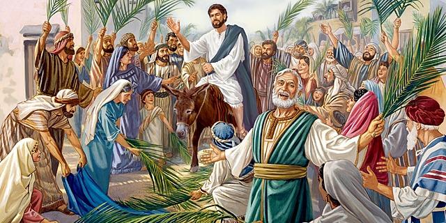 JESÚS LLEGA A JERUSALEN