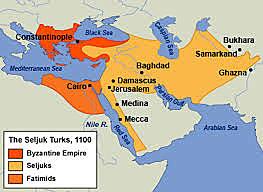 turcos seldyúcidas ocupan jerusalén