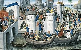 Saqueo de Constantinopla (Cuarta cruzada)
