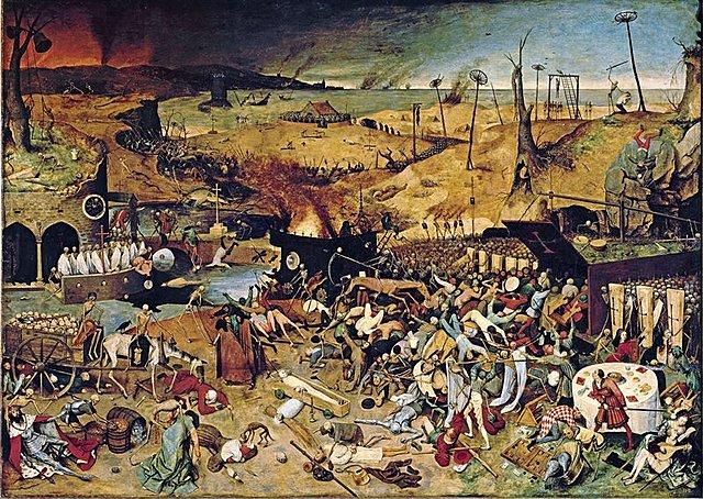 La llegada de la peste negra a Europa