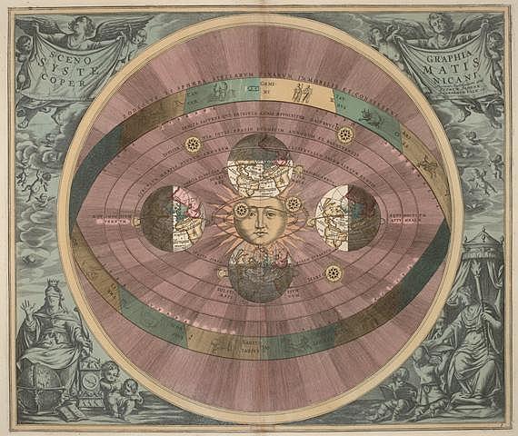Copèrnic va proposar l'heliocentrisme de l'univers
