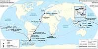 Primera vuelta al mundo por Margallanes y el Elcano