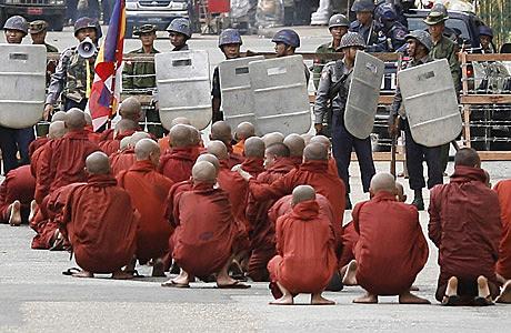 The Saffron Protests
