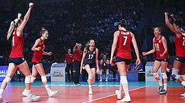 USA Volleyball History timeline