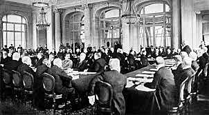 Tractat de Versalles per Alemanya