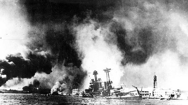 Atac a japonès a la base naval nord-americana de Pearl Harbor