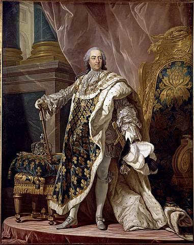 Retrato de Luis XV de France