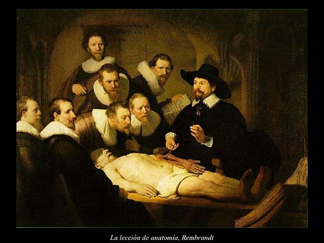 La Lección de Anatomia del Dr. Nicolaes Tulp