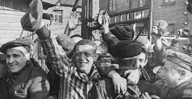 Alliberen als empresonats d'Auschwitz