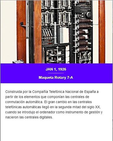 Maqueta Rotary 7-A