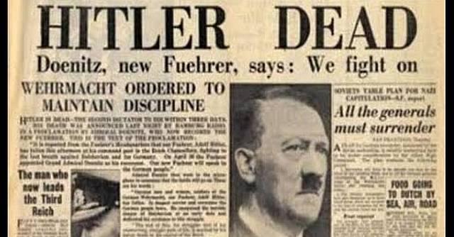 Hitler es suïcida.
