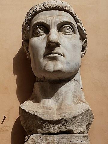 Constantino I es nombrado Augusto