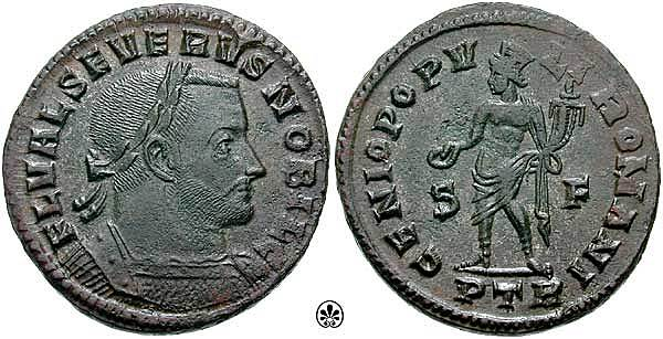 Flavio Valerio Severo es nombrado César