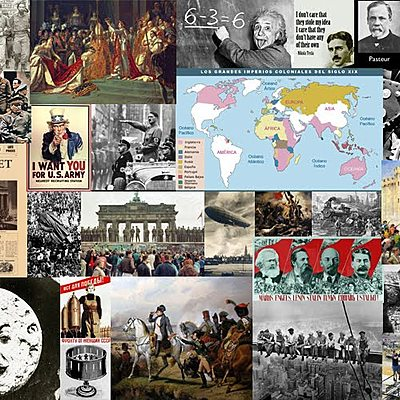 Història del món contemporàni timeline