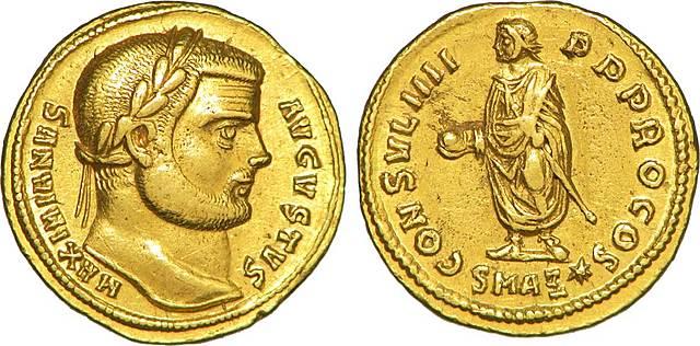 Nombramiento de César a Maximiliano