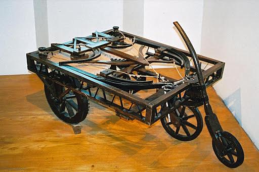 Leonardo da Vinci invents the self-propelled car.