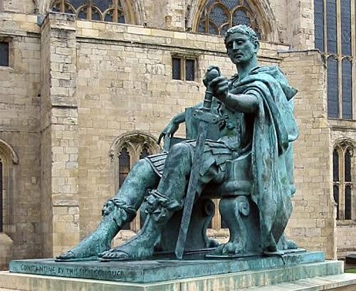 Nacimiento de Constantino I