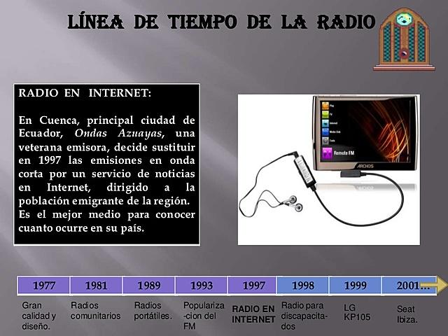 radio en internet