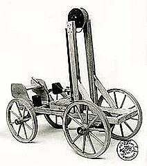 Francois Isaac de Rivaz invents internal combustion engine