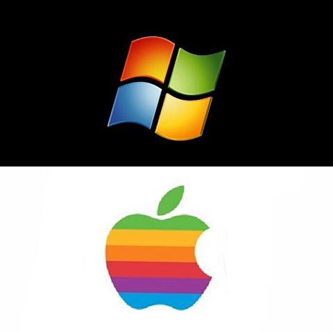 "Windows1.x e Apple ""System 1"""