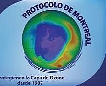 Entrada en vigor del protocolo de montreal sobre sustancias que agotan la capa de ozono