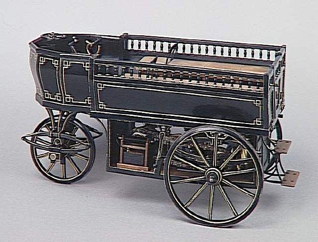 "Jean-Joseph-Etienne Lenoir invents the ""horseless carriage."""