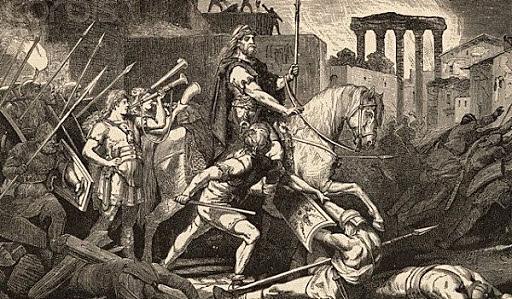El fin del Imperio Romano de Occidente