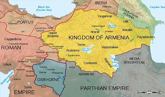 Anexión definitiva de Armenia.
