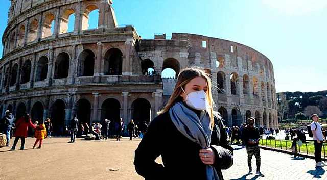 Italy reports first death