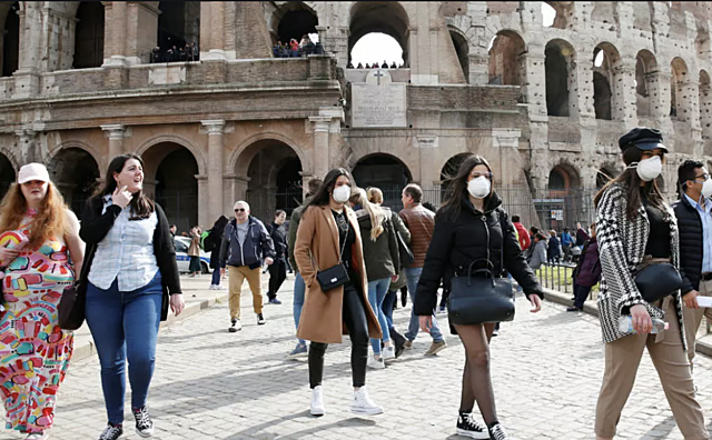 Italy records exponential surge in case number