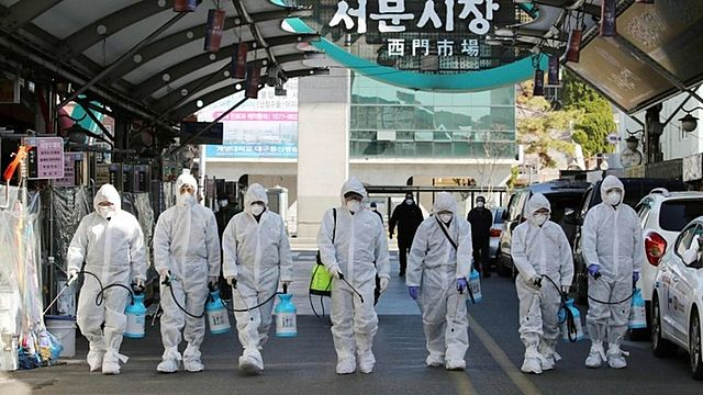 South Korea reports 600 new cases