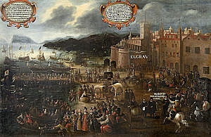 Expulsión de los musulmanes de la Corona hispánica