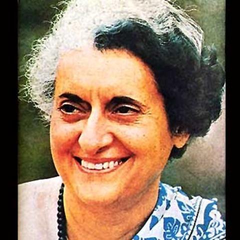 INDIA Indira Gandhi