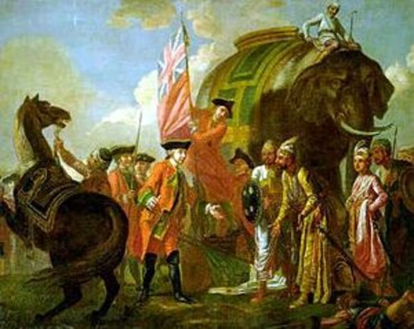 INDIA Battle of Plassey