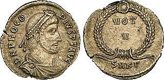 Procopio usurpa el trono