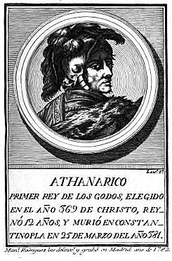 Valente le gana a Atanarico