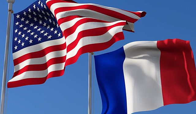 France and the United States form an alliance