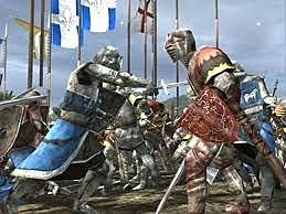 6. knigths fight for the queen