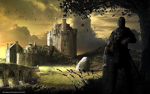 6. Lancelot arrived the castle
