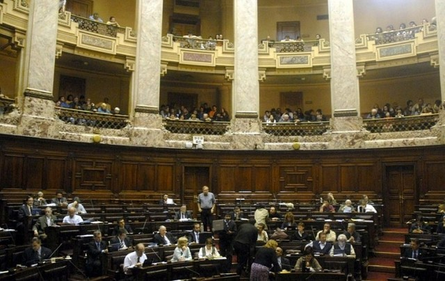 Se vota la ley en el Diputados