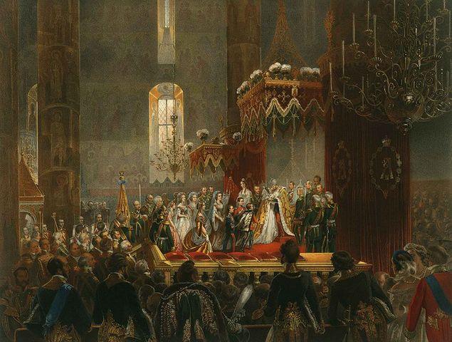 Коронация Александра II в Москве