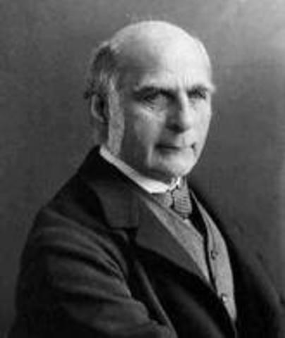 Frances Galton (1822 - 1911)