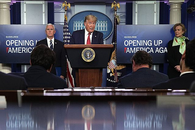 Global Response: President Trump Announces US Reopening