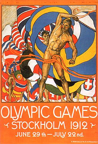 Juegos Olimpicos Estocolmo 1912